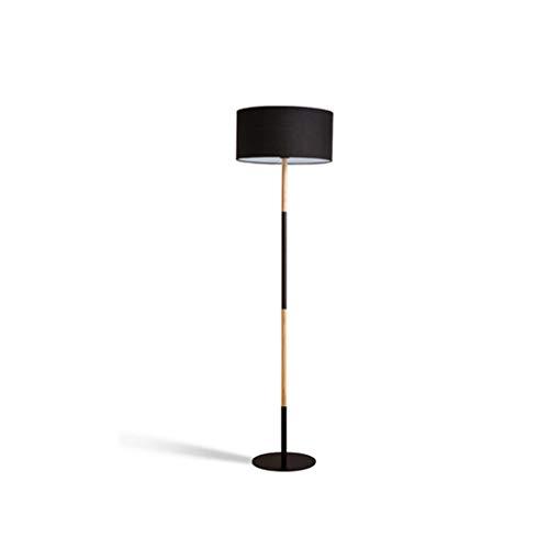 Floor Lamp-Modern Design Studeren Licht for woon- / slaapkamer/werkkamer en Office-Staande Leeslamp for Home And Hotel DZE (Color : Black, Size : 40cm*160cm)
