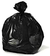 Elysian Disposable Garbage Bag/Trash Waste Dustbin Bag/Recycled PVC Garbage Bag, Color Black Size 24 x 36 Inch Pack of 300 Poly