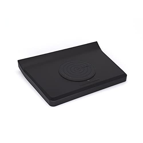 Inbay Qi-Smartphone-Ablagefach für VW Golf V VI, Jetta V, Scirocco (Typ 13), EOS (1F) | passgenaues Einbau-Set für Volkswagen | komfortabel kabellos im Auto Laden