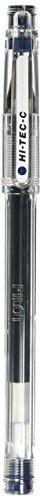 Price comparison product image Pilot Gel Ballpoint Pen,  Hi-Tec-C 04,  Fine,  Blue Black (LH-20C4-BB)