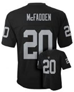 ea0b9e416 Amazon.com : Outerstuff Darren McFadden Oakland Raiders Black Youth Jersey  X-Large 18-20 : Clothing