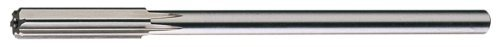 Cleveland C25513 Chucking Reamer, Straight Flute, Round Shank, Uncoated (Bright) Finish, 1/4, E Size (Pack of 1) by Cleveland
