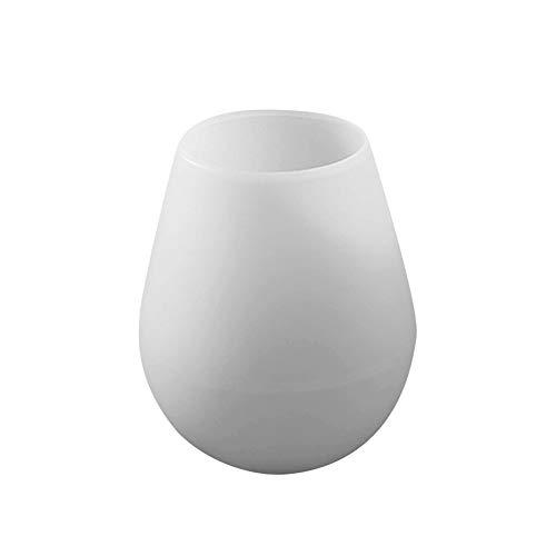 CPH20 Copa de silicona luminosa Copa de vino Copa de camping Copa sin BPA irrompible portátil para viajes en casa