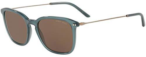 Armani GIORGIO 0AR8111 Gafas de sol, Opal Green, 54 para Hombre