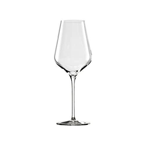NAXIAOTIAO Copas De Vino Tinto Modernas Conjunto De 6, Copas De Vino Grandes Únicas, Copas De Vino De Cristal Soplado A Mano, Copas De Vino De Tallo Largo Altas,405ML