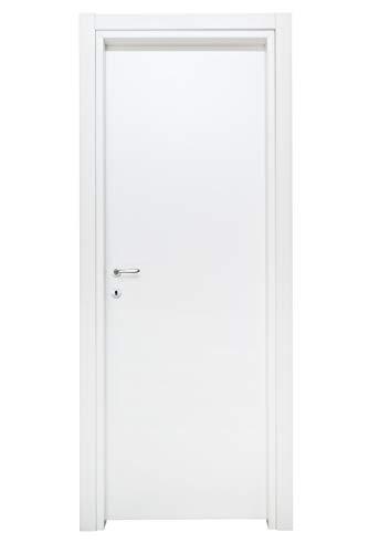 Kimono Porta Interna a Battente Ecodoor 2.0, Laminato Bianco, Destra (210x90)