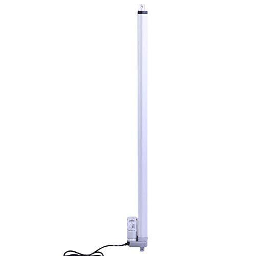 SUNTAOWAN Accionador lineal de 30 a 750 mm, fuerza de alta duración 1500n 140kg máx.Ascensor Actuador de línea recta, Motor de elevación eléctrica para TV reclinable Mesa de Masaje de Masaje Sofá Auto