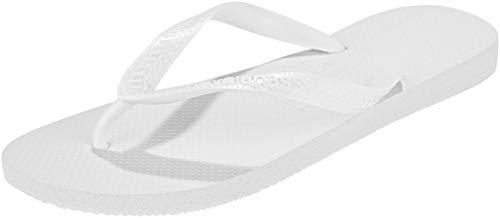 Havaianas Unisex-Erwachsene Top Zehentrenner, Weiß (White), 43/44 EU