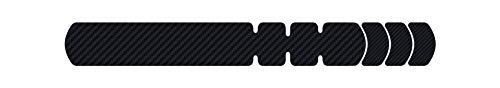 Lizard Skins Carbon Leather Frame Protector Black, Large