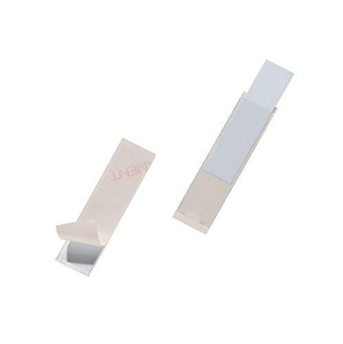 Preisvergleich Produktbild Durable 8072-19 Selbstklebetasche Pocketfix (18x75mm) Kleinpack