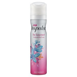 Impulse Deodorant 75ml BE SURPRISED 6 PACK