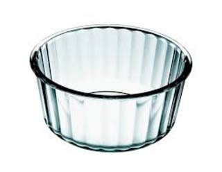 "Simax Glassware 2 Quart Glass Soufflé Dish | Borosilicate Glass, Microwave and Dishwasher Safe, Measures 7.8"" x 3.5"""