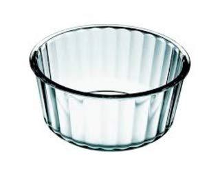 "Simax Glassware 2 Quart Glass Soufflé Dish  Borosilicate Glass Microwave and Dishwasher Safe Measures 78"" x 35"""