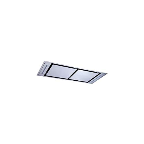 Hotte de plafond Roblin 6209265 - Hotte aspirante Pan droit - largeur 100 cm - Débit d'air maximum (en m3/h) : 650 - Niveau sonore Décibel mini. / maxi. (en dBA) : 45 / 63
