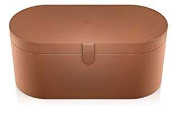 Dyson Large Tan Storage Case for Airwrap Stylers, Part No. 969776-03