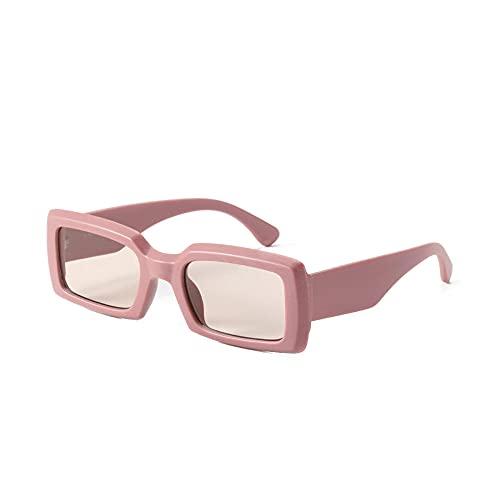 Gosunfly Nuevas gafas de sol de playa con personalidad negra, gafas de sol multicolores: pasta de frijoles