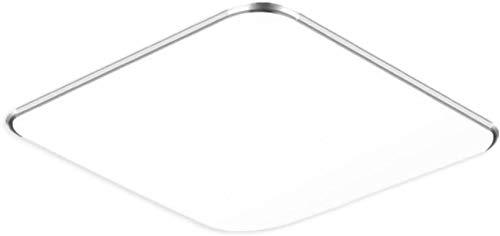 SAILUN 36W RGB LED moderno plafoniera corridoio soggiorno lampada camera da letto cucina Lampadina economizzatrice d'energia Argento