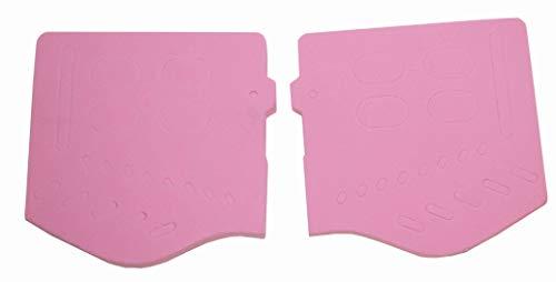 Trinity Soft Ear Pair Pink Replacements for Jt Goggles, Jt Spectra jt Proflex jt USA PSP Tournament Paintball Goggle Replacement Ear Cover Pink Paintballer Paintballing Empire Mini dye Planet Eclipse