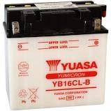 YUASA YB16CL-B Batterie für Bombardier Moto D'Acqua (Tutti) 94-04 ; Bombardier Quad Traxter 500 99-02 ; Quest 650 02-03