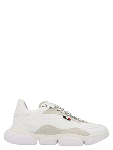 Moncler Luxury Fashion Herren 4M7200002SGQ001 Weiss Leder Sneakers | Ss21