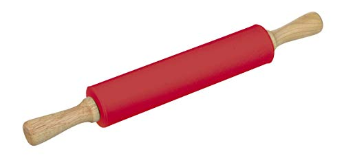 Rolo Para Massa Silicone 43, 5cm Haüskraft Rolo Para Massa Silicone 43, 5cm Vermelho No Voltagev