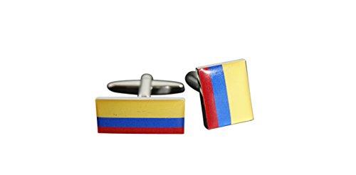 Flaggenfritze® Manschettenknöpfe Fahne / Flagge Kolumbien