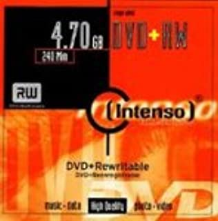 Intenso 4X DVD+RW - 10 DVDs in Jewel Cases