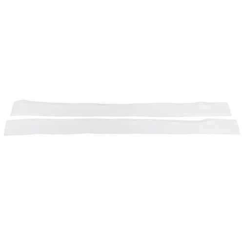 Cubierta de silicona para relleno de huecos Cubiertas de silicona para huecos de estufa Anti-aceite para encimera, estufa, horno Cubierta de silicona para encimera de encimera(white, 25 inches)