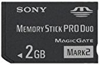 Sony 2 GB Memory Stick PRO Duo Flash Memory Card MSMT2G