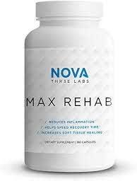 NOVA Three Labs Max 78% OFF Rehab Inflammation Helps Reduces Speed Charlotte Mall