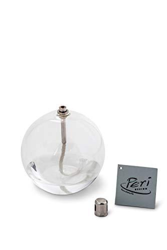 Peri Glass 1242 Runde Öllampe aus Glas, 11 cm