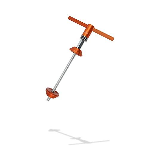 Herramienta de instalación de prensa de pedalier de bicicleta, herramienta de presión de auriculares de bicicleta de ahorro de esfuerzo, instalador de cojinetes de bicicleta, para reparación de bicicl