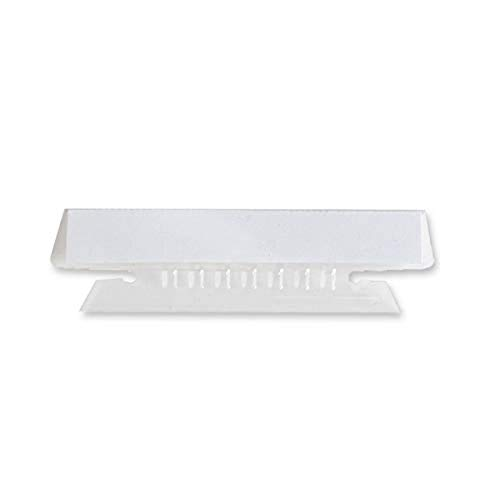 Business Source Plastic Clear Tabs