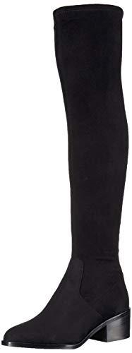 Steve Madden Women's Georgette Fashion Boot, Black, 6.5 M US