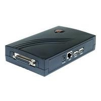 Longshine LCS-PS112 PrintServer (3-Port, RJ45, 2X USB 2.0)