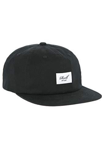 Reell Flat 6-Panel Cap, Baseball Basecap Kappe für Herren und Damen
