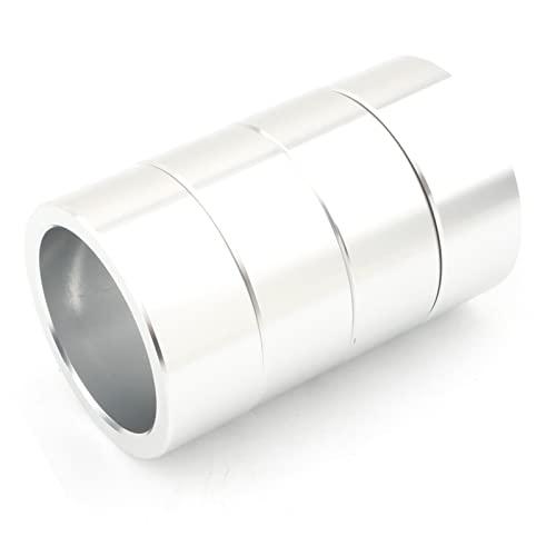 wuwu 4×2.5'Levantamiento Espaciador de suspensión de Aluminio for Puedo ser Outlander 650 800 Plata