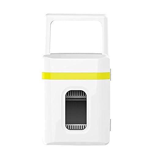 H.Slay 10L Refrigerador Congelador Glaciere Mini Refrigerador De Coche Refrigerador De Coche Caja De Refrigerador De Doble Uso Frío/Caliente Portátil IceBox Pequeño Congelador, Camping, Caravanas