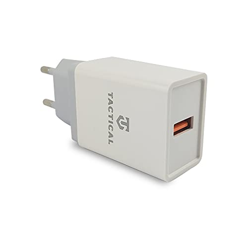 Tactical LZ-067 Cargador iPhone Travel Charger Made in Europe | Cargador USB C, cargador iPhone compatible como cargador Apple, cargador iPhone 12, cargador iPhone 11