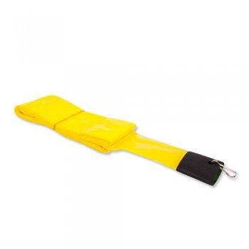 Drachen Zubehör - Schlauchschwanz PE Yellow - für Lenkdrachen - Länge: 12m - inkl. Clip zur Befestigung (Yellow)