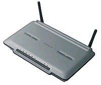 Belkin ADSL2+ Modem with High-Speed modalità Wireless-G Router Wireless f5d7633fr4a