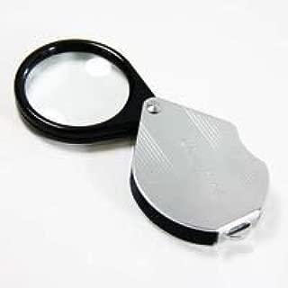 虫眼鏡 【アウトレット】 繰り出し ポケットルーペ 7951 4倍 36mm 携帯用 スライドルーペ 拡大鏡 池田レンズ