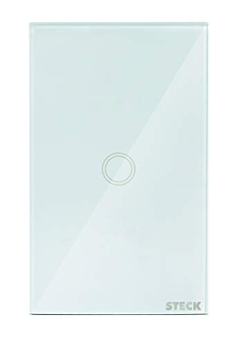 "Interruptor Inteligente Smarteck 4X2"" 1 Módulo Bivolt Touch Wi-fi Branco, compatível com Alexa"