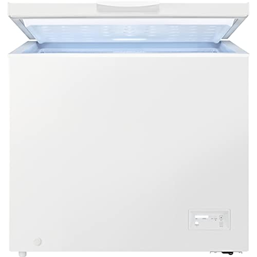 Zanussi ZCAN38FW1 Arcón congelador, Capacidad 371 Litros, 3 cestos, Compresor