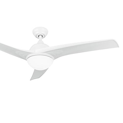 Co Z 52 White Ceiling Fan With Light And Remote Modern Ceiling Fans With Three Reversible Blades Memory Indoor Led Buy Online In Antigua And Barbuda At Antigua Desertcart Com Productid 216548593