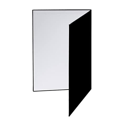 Fotografie vouwen reflector, reflector fotografie karton, licht reflector, fotograaf reflector A3, 3-in-1 fotografie accessoires reflector karton (Color : A)