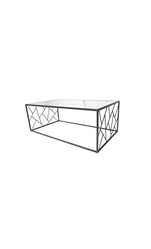 Socadis - Table Basse Design Triangles métal Art DE Fer