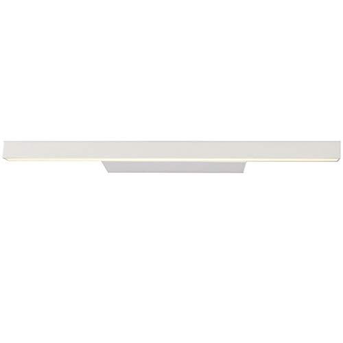 XFXDBT Led 14w Bilderleuchte Antibeschlag Schminklicht,modern Wasserdicht Spiegelleuchte Badleuchte Wandleuchten Neutrales Weiß-weiß 60cm-14w