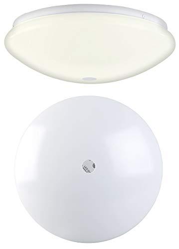 Luminea Lámpara de movimiento: Luz LED de pared y techo,...