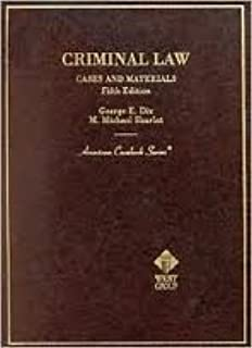 Basic Criminal Law: Cases and Materials (West's criminal justice series)